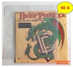 """BUSTE per dischi Vinili 33 GIRI - LP - DLP - 12"""" [PE MY 120] - Qta 50"""