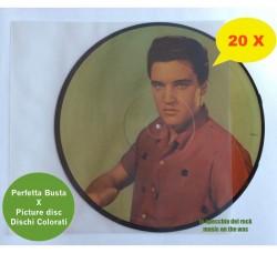 BUSTE trasparenti per VINILE PICTURE DISC  e Vinili Colorati - Qtà 20