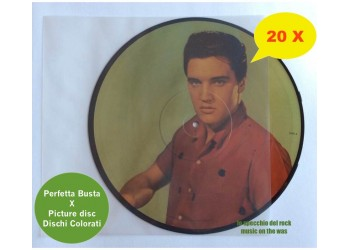 "Buste interne in PE per vinile picture disc -12"" - 100 mµ - Q.ta 20"