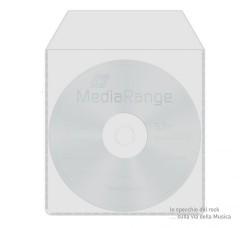 BUSTINE per  CD/DVD in PPL 80 Micron - Qtà 100