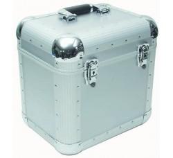 PLATTEN-  Valigetta BOX Alluminio per 50/70  dischi VINILI 33 giri - Colore SILVER