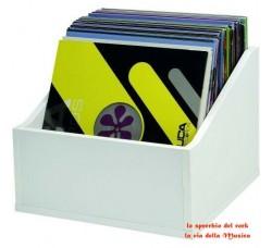 Glorious Record Box Legno contiene 100/110 LP - Colore BIANCO