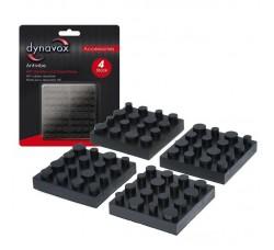 DYNAVOX - Piedini di gomma per apparecchiature HI-FI -