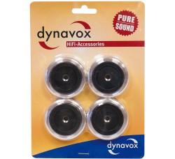 DYNAVOX - (4)  Piedini antivibrazioni per Giradischi e diffusori.