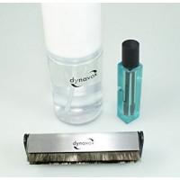 DYNAVOX KIT-  Panno - Spazzola - Detergente per Vinile - Detergente per Stilo -