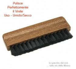 DYNAVOX - Spazzola per la pulizia UMIDO / SECCO del Vinile *