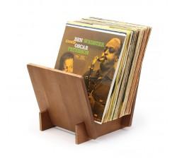 DYNAVOX ST40 - Supporto LP per Dischi in Vinile, Legno PINO - Contiene 40 LP