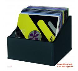 Glorious Record Box Legno contiene 100/110 LP - Colore NERO -