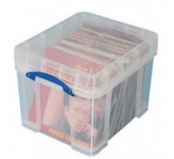 REALLY USEFUL - Contenitore Antiurto di Plastica per 90/100 Dischi Vinili LP
