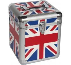 Valigetta BOX Alluminio per 70 dischi vinili 45 giri.