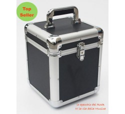 "CRISTALRAY - Case BOX Contiene 70 dischi Vinile 45 Giri, 7"" Pollici"