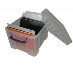 REALLY USEFUL - Contenitore Antiurto di Plastica per 100 Dischi Vinili LP