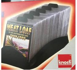 """KNOSTI - PORTA CD DA TAVOLO """"CD-SHUTTLE"""" CONTIENE 100 CD"""