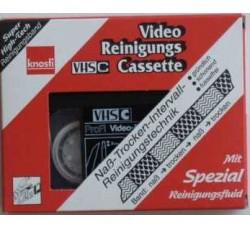 KNOSTI - Cassetta di pulizia a umido video VHS-C SB