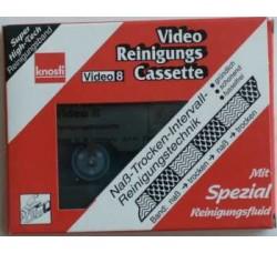 KNOSTI - Video Cassetta di pulizia a umido 8 mm SB