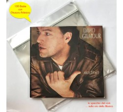"BUSTE per dischi Vinili 12"" LP - DLP  (PPL MY 40) Chiusura adesiva - Qtà 100 Buste"