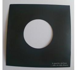 MANICOTTI  Sfoderati per Dischi 45 Giri - Colore antracite NERO - Qta' 50