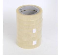 Nastro Scotch Adesivo Trasparente - Confezione 8 Rotoli