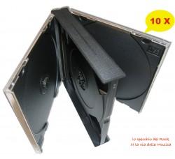 Box Cofanetto Jewel Case per 4 CD o DVD