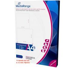 MEDIARANGE - Inserti per custodie  CD formato Jewel - Colore Bianco