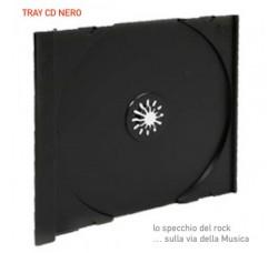 Vassoio Tray NERO  - Ricambio nelle custodie Jewel Case - Q.ta 10 -