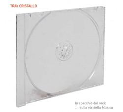 Vassoio Tray TRASPARENTE  - Ricambio nelle custodie Jewel Case - Q.ta 10