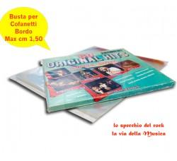 Buste Esterne per BOX COFANETTI Vinili - Bordo Cm 1,5 - Qtà 10