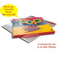 Buste Esterne per BOX COFANETTI Vinili - Bordo cm 2.0 - Qtà 10