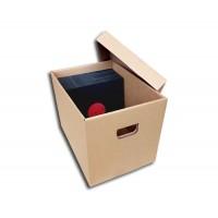 CONTENITORE BOX di Cartone ondulato per 150 /200  Dischi Vinile 78 Giri.