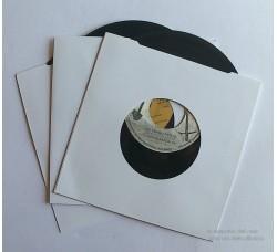 Copertine CARTONE 150gr per dischi 45 giri - Antistatiche, Antigraffio, Antimuffa - Qtà 25