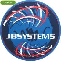 JB  SYSTEMS - LOGO ROSSO - Tappetino Slipmats per giradischi (1) Pezzo