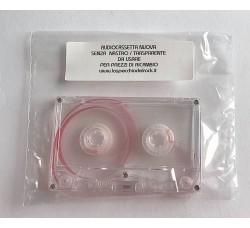 Cassetta Vuota per utilizzo Manutenzione colore TRASPARENTE