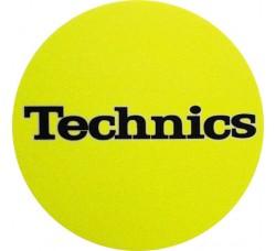 TECHNICIS - Tappetino SLIPMAT per GIRADISCHI  - GIALLO - Q.ta 1°