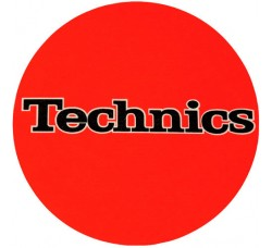 TECHNICS - Tappetino SLIPMAT per GIRADISCHI - ORANGE  - Q.ta 1°