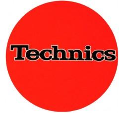 TECHNICS ORANGE LOGO NERO Tappetino Slipmats per giradischi (1) Pezzo