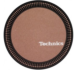 "TECHNICIS - Slipmats  Tappetino Panno PER GIRADICHI ""Strobe Brown"""