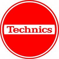 """1-TECHNICIS - Slipmats Tappetino Panno PER GIRADISCHI """"Technics Break"""""""