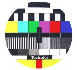 """TECHNICIS - Slipmats  Tappetino Panno PER GIRADISCHI """"TV"""""""