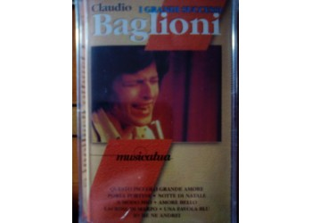 Claudio Baglioni - I grandi successi – MC/Cassetta