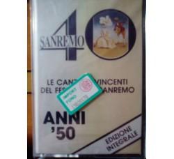 Various – Le canzoni vincenti del festival di Sanremo (Anni '50) – MC/Cassetta