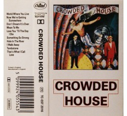Crowded House ‎– Crowded House – MC/Cassetta
