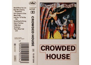 Crowded House – Crowded House – MC/Cassetta