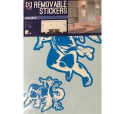 Angeli  - Stickers Riposizionabile Removibile