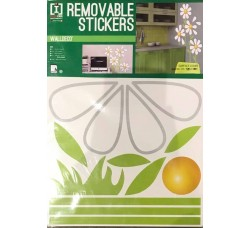 Margherite- Stickers Riposizionabile Removibile