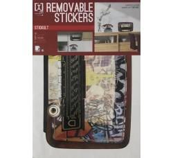 Adesivi per pareti - Stickers Riposizionabile Removibile