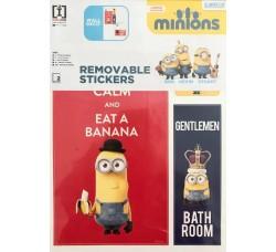 MINIONS - Stickers Adesivo Removibile