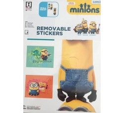 I Minions- Stickers Adesivo Removibile