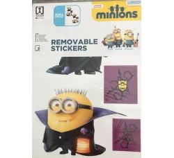 Minions di Halloween - Stickers Adesivo Removibile