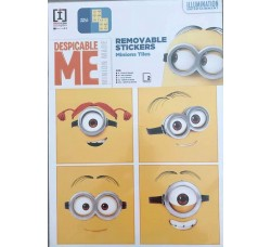 Despecable me - Stickers Minions - Adesivo Removibile