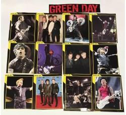 GREEN DAY - Adesivi Rimovibili - 12 Stickers